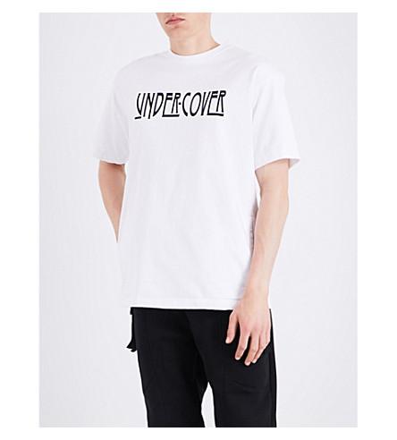 Undercover Cottons Logo cotton T-shirt