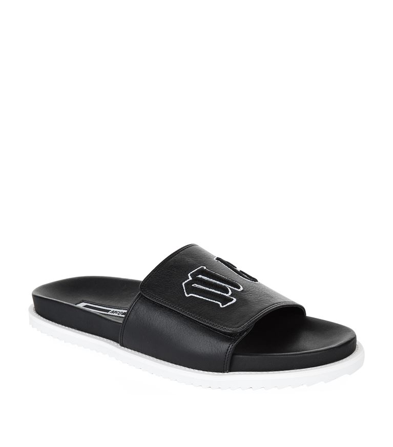 Mcq By Alexander Mcqueen Leathers Infinity Pool Slides