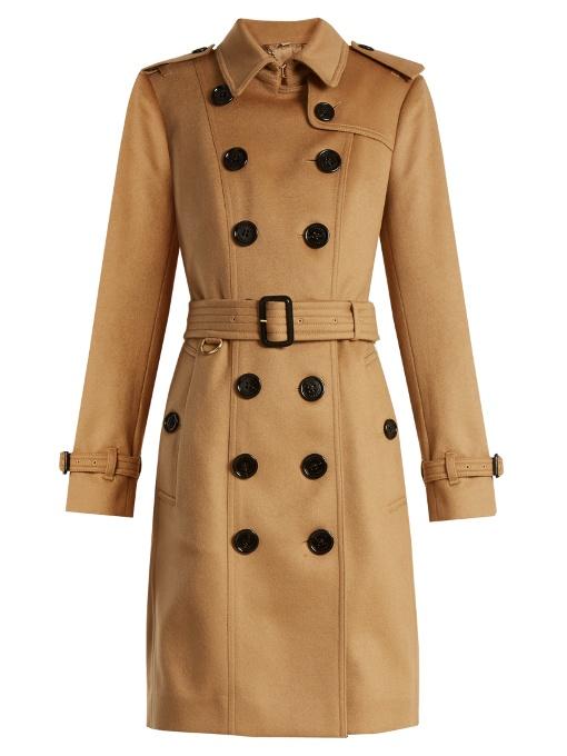 Burberry Cashmeres Sandringham long cashmere trench coat