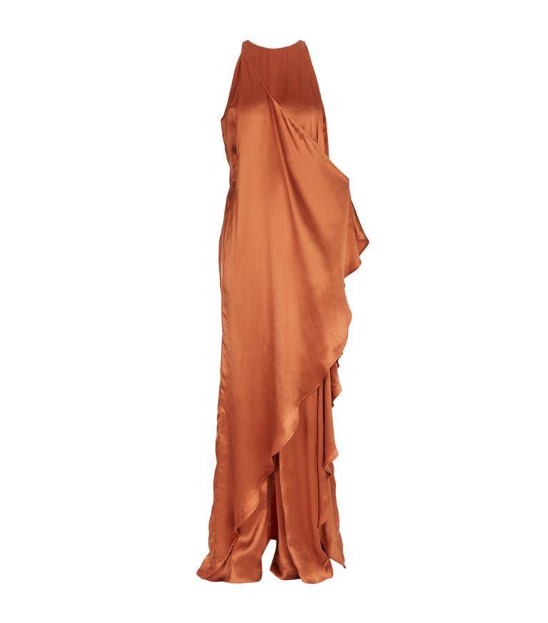 Balmain Maxi dresses Satin Dress