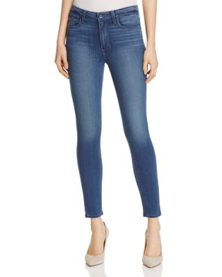 Paige Denims HOXTON ANKLE SKINNY JEANS IN VIDA