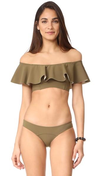 Lisa Marie Fernandez Bikinis MIRA FLOUNCE BIKINI