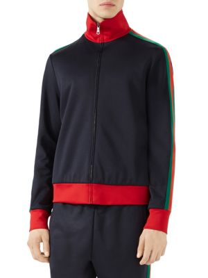 Gucci Cottons Technical Jersey Jacket