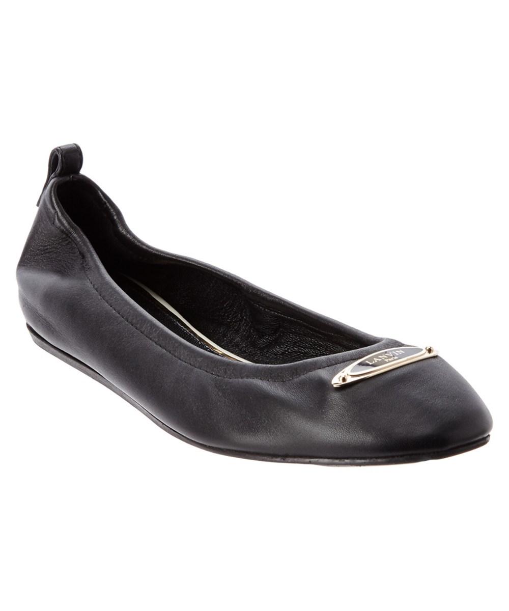Lanvin Leathers Lanvin Leather Ballet Flat