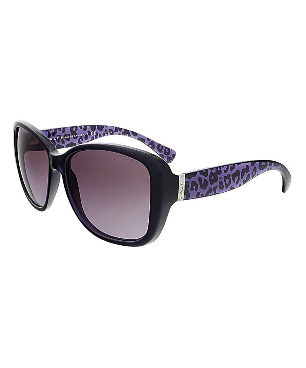 Polo Ralph Lauren Sunglasses POLO RA5182 11038H PURPLE SQUARE POLO SUNGLASSES