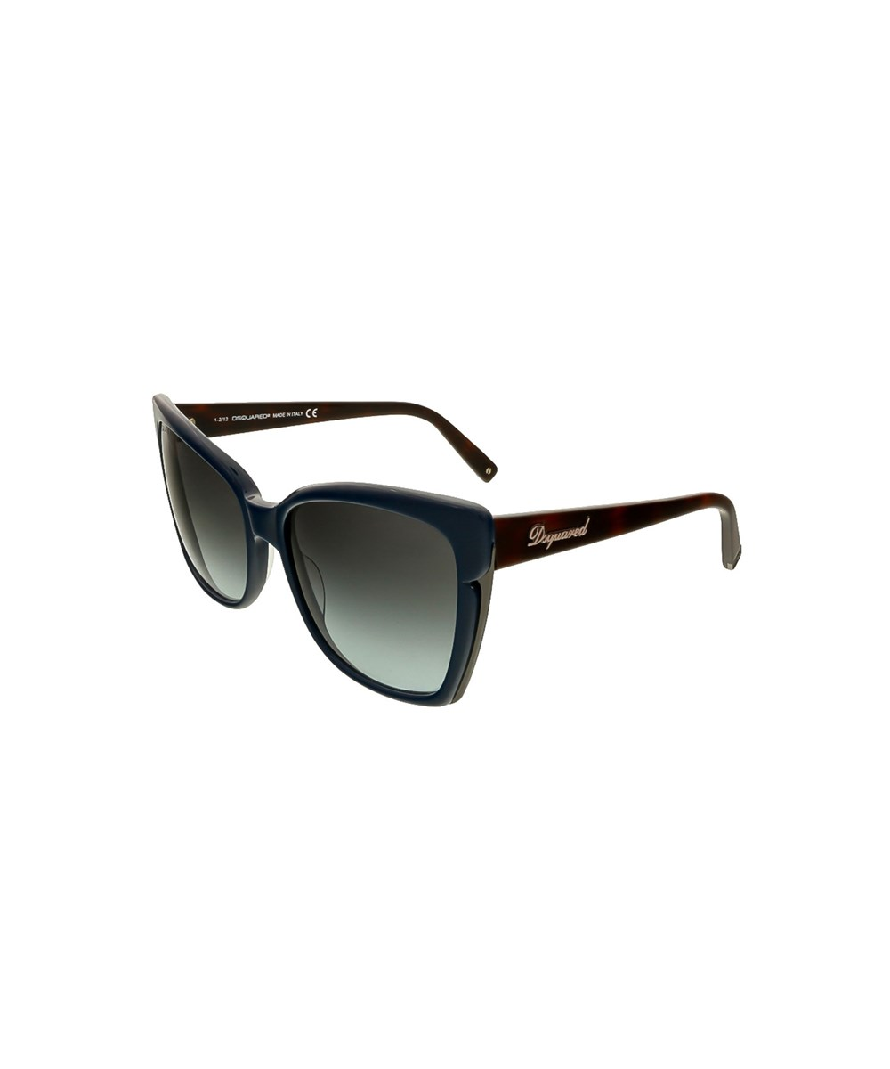 Dsquared2 Sunglasses DQ0098/S 96W NAVY BLUE SQUARE