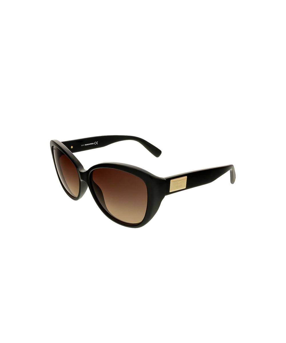 Dsquared2 Sunglasses DQ0128/S 01F BLACK CAT EYE