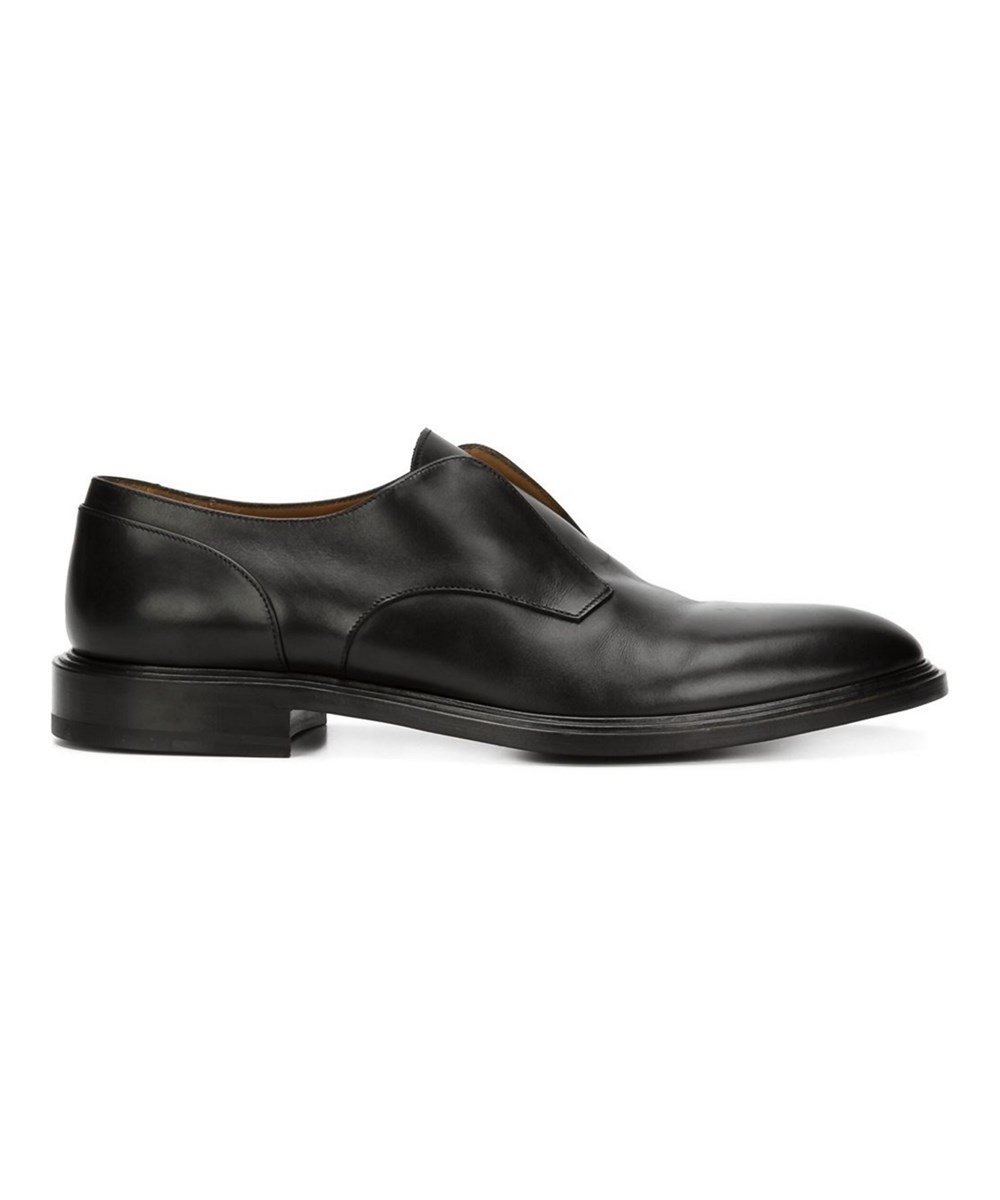 GIVENCHY MEN'S  BLACK LEATHER LOAFERS'