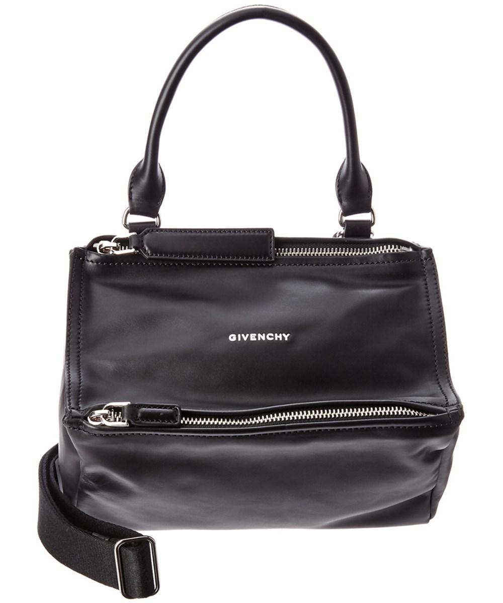 Givenchy Leathers GIVENCHY MINI PANDORA LEATHER MESSENGER