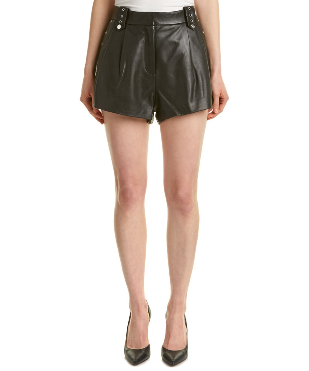 The Kooples Leathers THE KOOPLES LEATHER SHORT