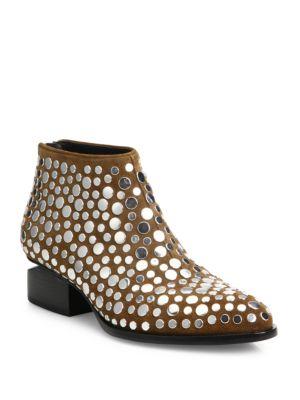 Studded Kori Lift Heel Boots
