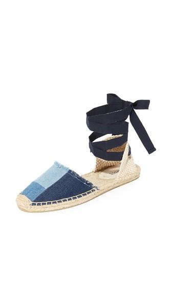Soludos Sandals PATCHWORK ESPADRILLE SANDALS