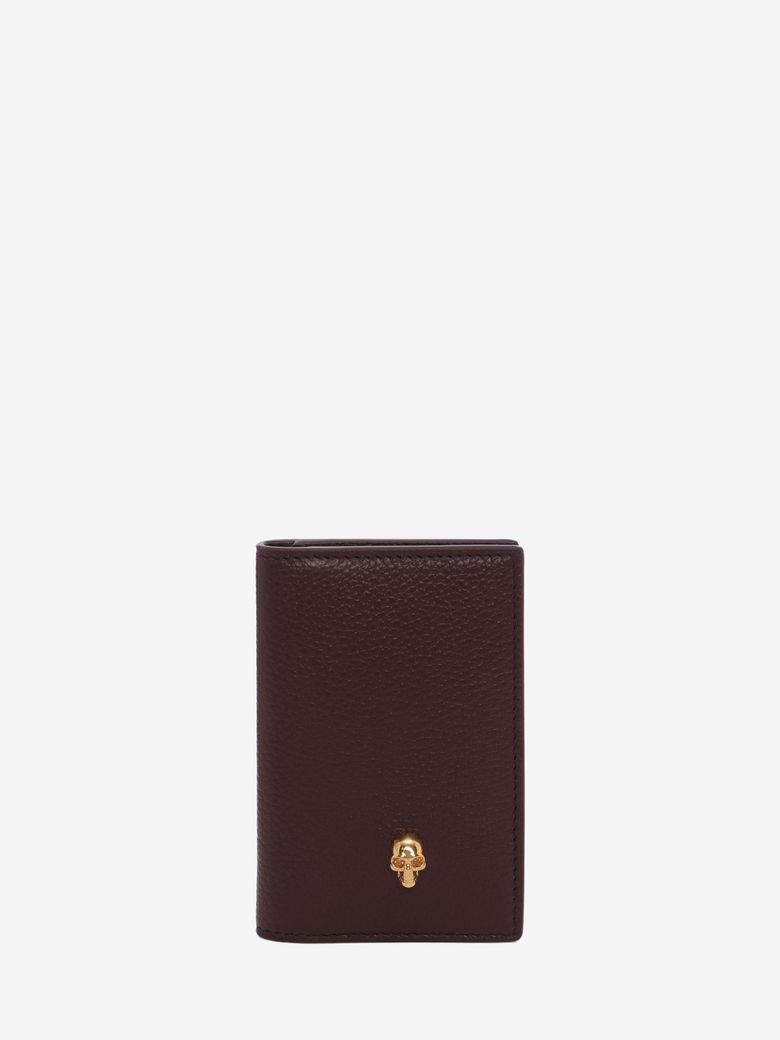 Alexander Mcqueen Leathers LEATHER SKULL POCKET ORGANIZER