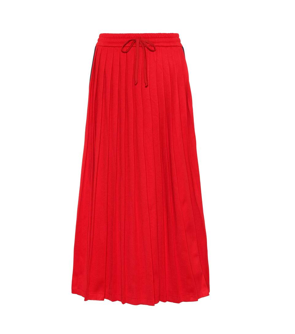 Gucci Downs PLEATED SKIRT