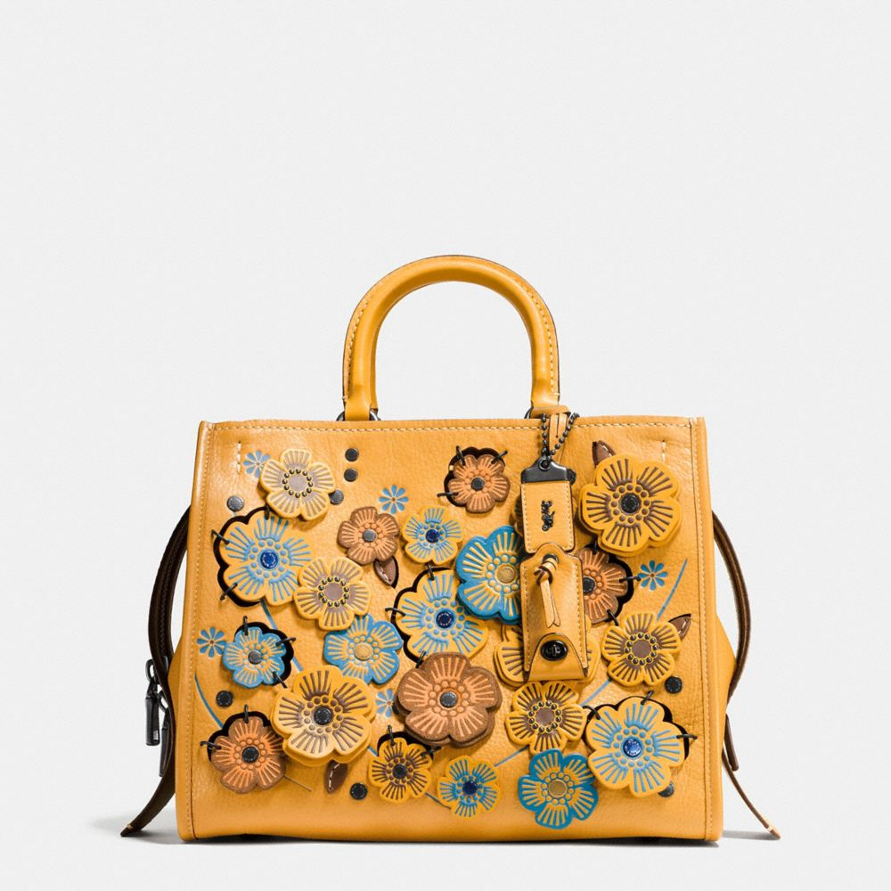 Coach Leathers COACH ROGUE WITH LINKED TEA ROSE