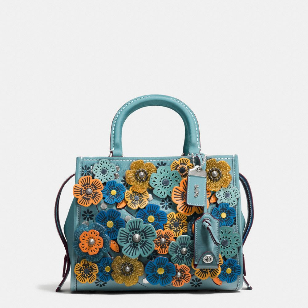 Coach Leathers COACH ROGUE 25 WITH GLITTER TEA ROSE - WOMEN'S