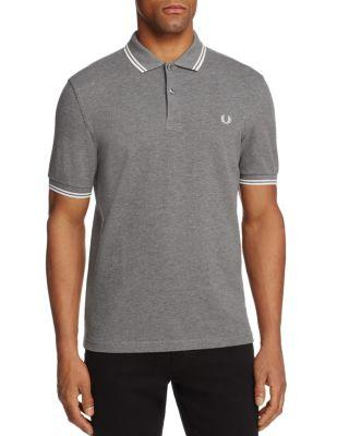 Fred Perry Shirts TIPPED PIQUE SLIM FIT POLO SHIRT
