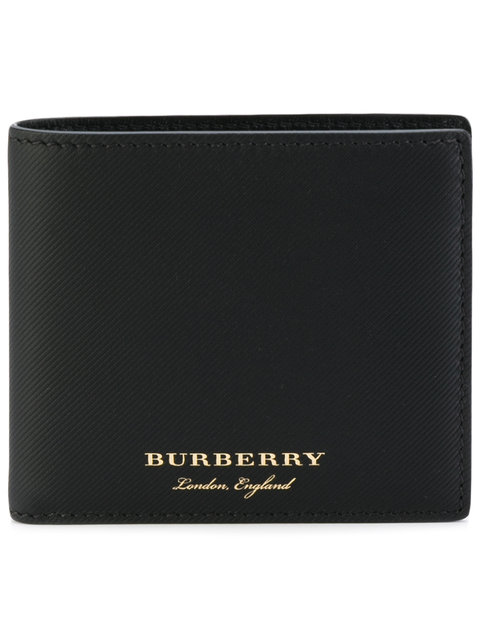 Burberry Wallets TRENCH LEATHER INTERNATIONAL BIFOLD WALLET