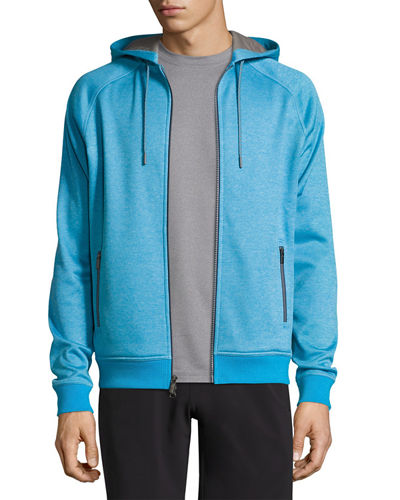 Peter Millar Hoodies CROWN ACTIVE ZIP-FRONT HOODIE