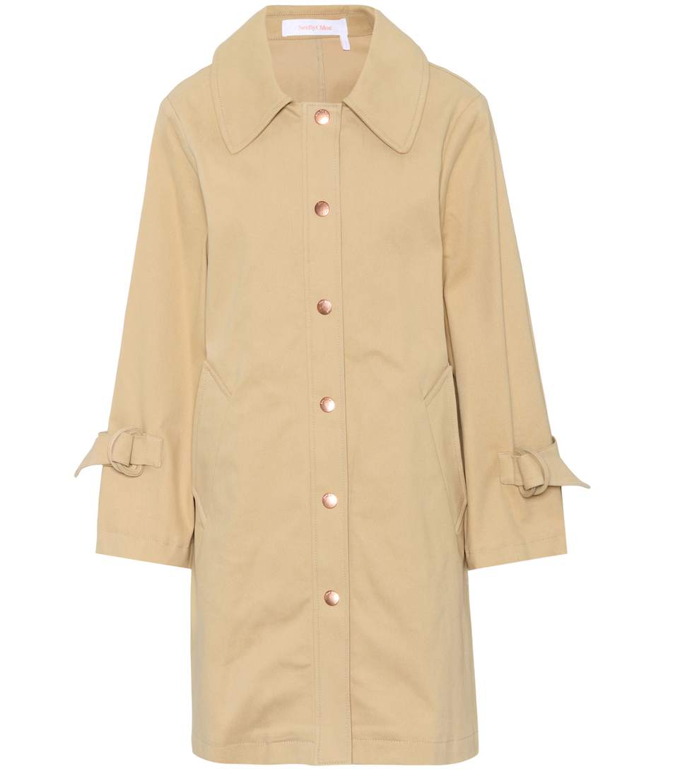 See By Chloé Cottons COTTON-TWILL COAT