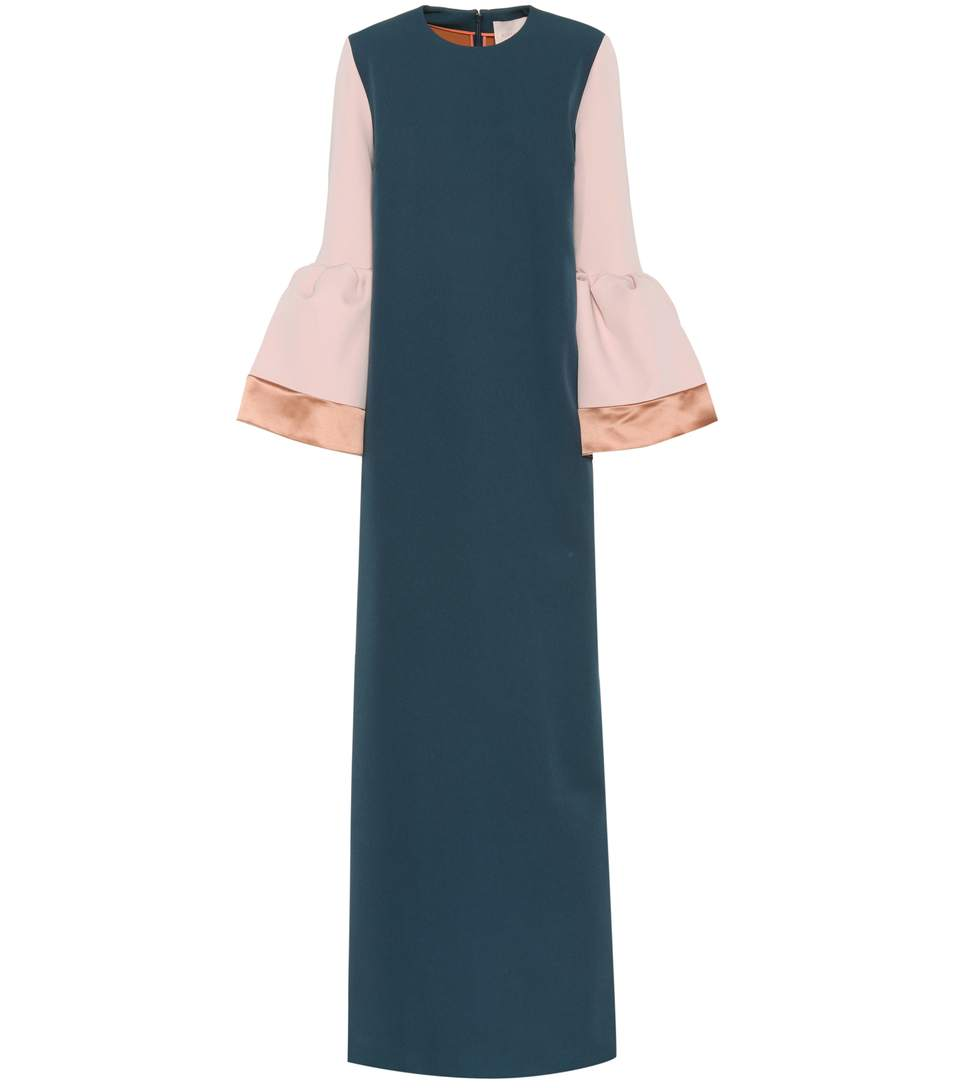 Roksanda Silks Litani crêpe dress