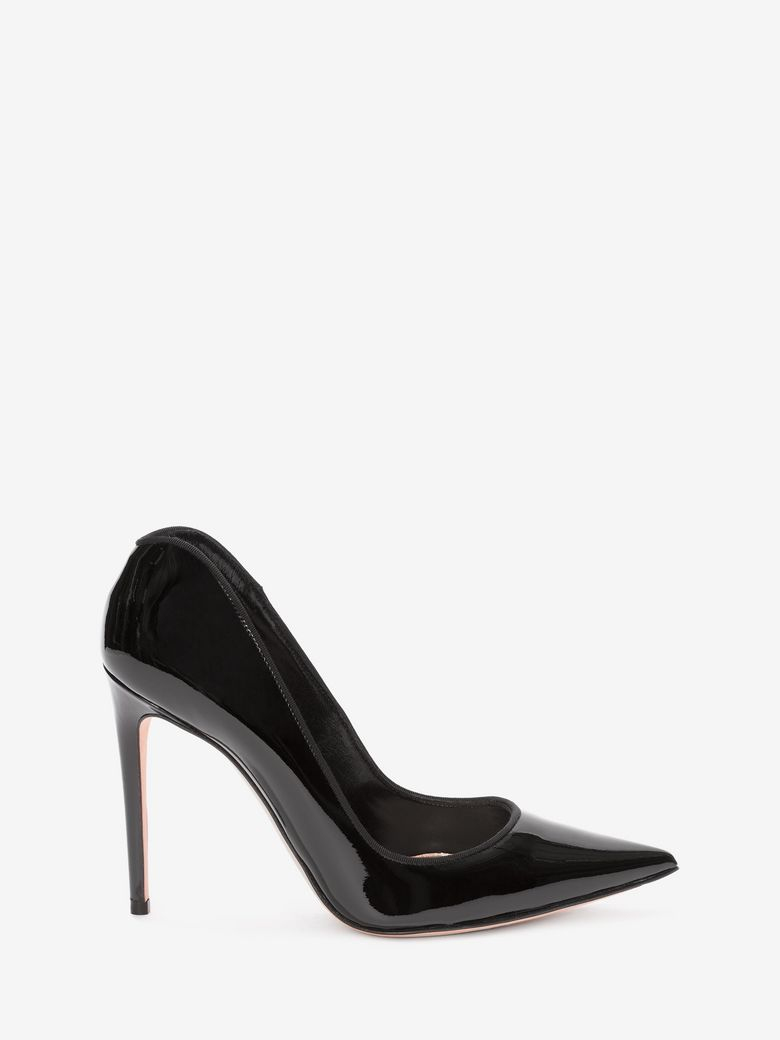 Alexander Mcqueen Leathers PATENT PUMP