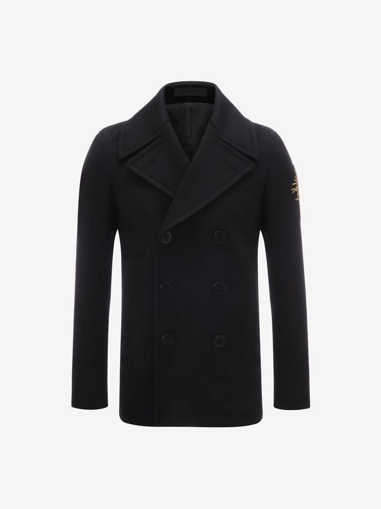 Alexander Mcqueen Clothing BESTICKTE CABANJACKE