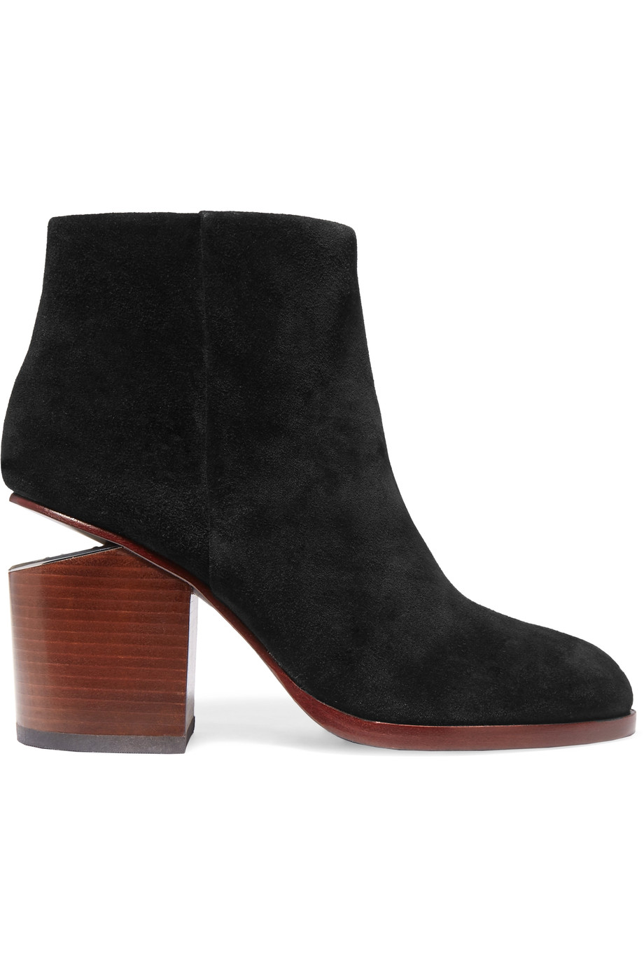 Alexander Wang Suedes Gabi cutout suede ankle boots