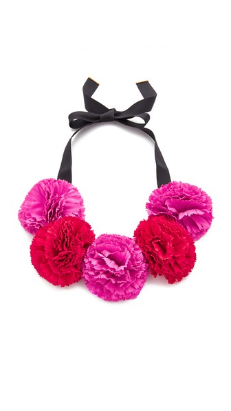 Kate Spade Necklaces FIESTA FLORAL STATEMENT NECKLACE