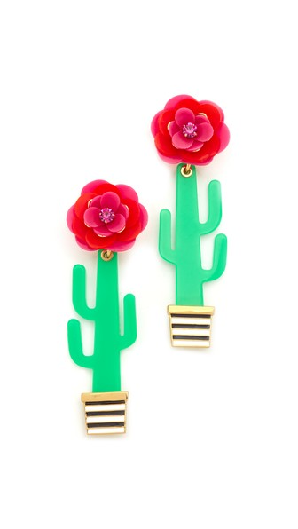 Scenic Route Cactus Stud Earrings