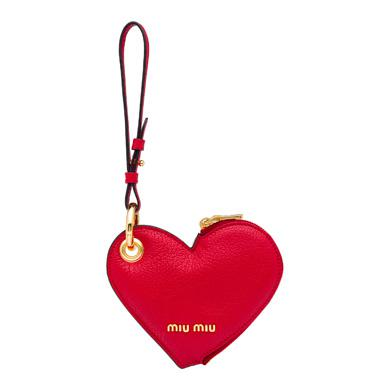 MADRAS LEATHER HEART COIN PURSE TRICK