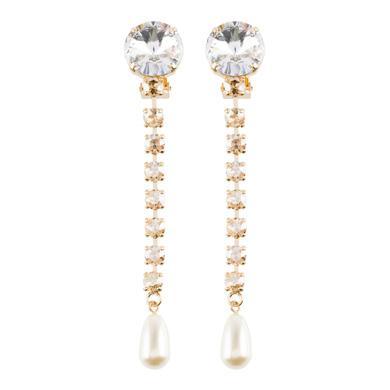 Miu Miu Earrings Earrings with Pearl and Crystals