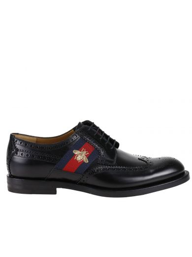 Gucci Leathers Brogue Shoes Shoes Men Gucci