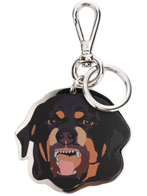 Givenchy Keychains GIVENCHY DOG KEYRING - METALLIC