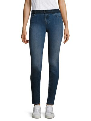 J Brand Cottons Maria High-Rise Skinny Jeans