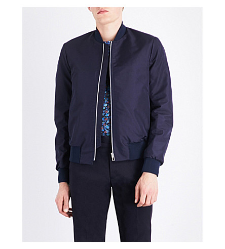 Ps By Paul Smith Downs Stand-collar bomber jacket