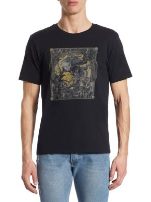 The Kooples Cottons Screen Print Cotton T-Shirt
