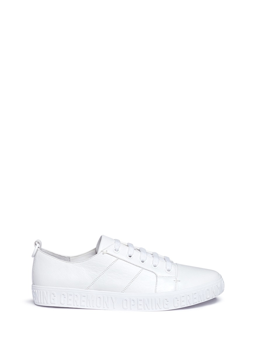 Opening Ceremony Leathers 'Mina Logo' leather sneakers