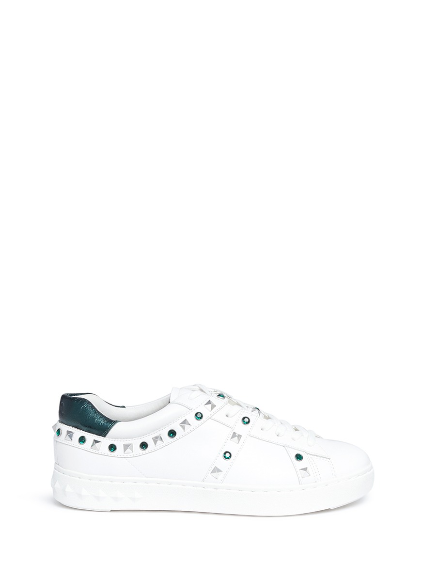 Ash Leathers 'Play' strass stud leather sneakers