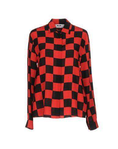 Msgm Silks Checked shirt