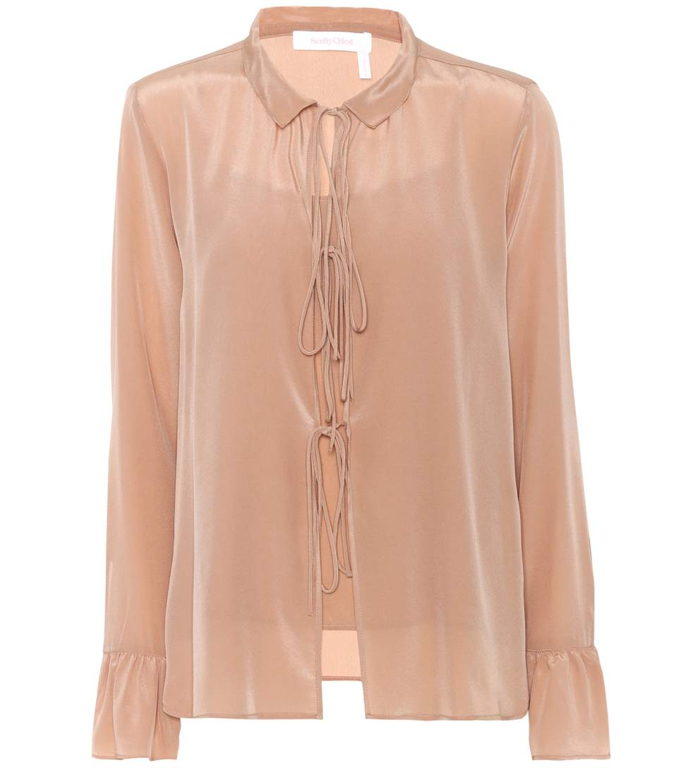 See By Chloé Silks SILK BLOUSE
