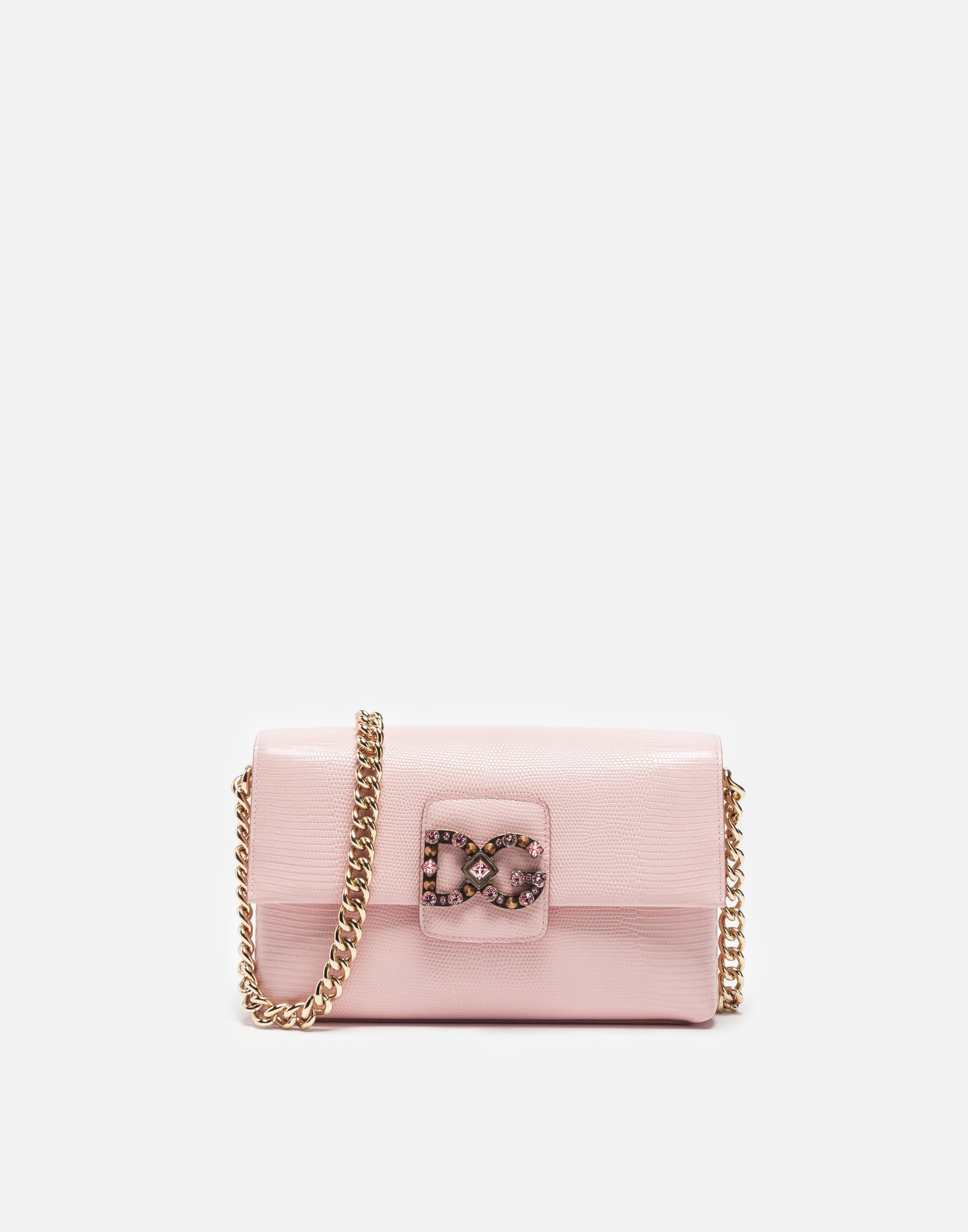 Dolce & Gabbana Leathers DG MILLENNIALS BAG IN LEATHER