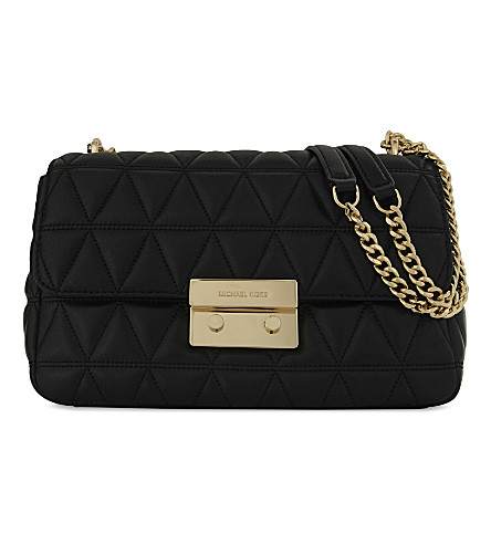 Sloan leather shoulder bag
