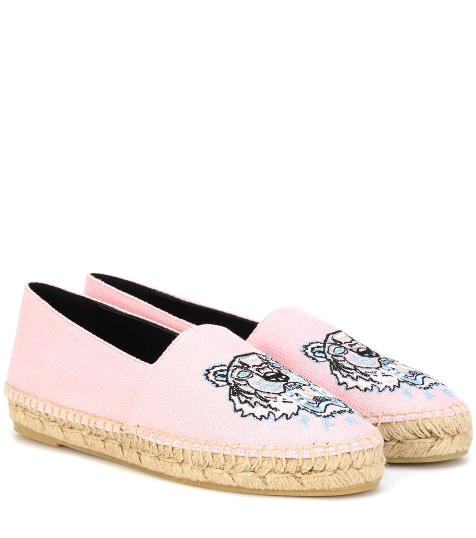 Kenzo Canvases Embroidered espadrilles