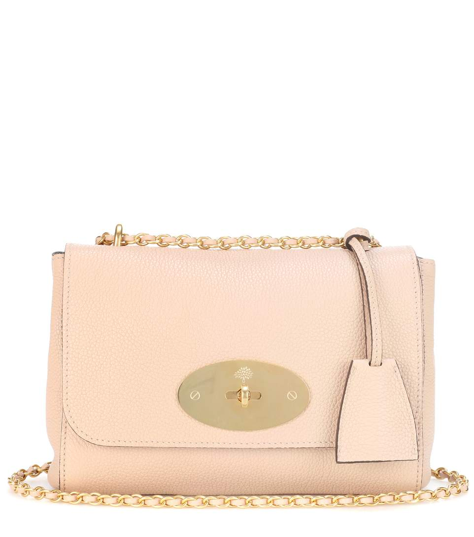Lily Small leather shoulder bag