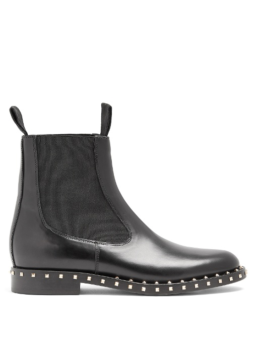Valentino Leathers SOUL LEATHER CHELSEA BOOTS