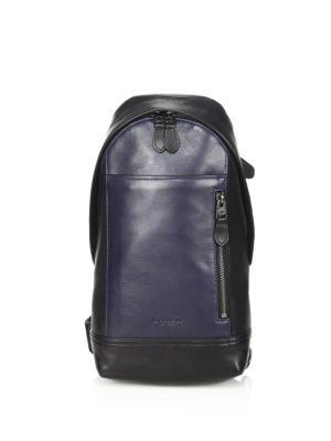 COACH 1941 Manhattan Sport   Leather Backpack