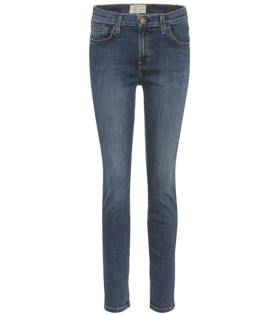 THE HIGHWAIST ANKLE SKINNY JEANS