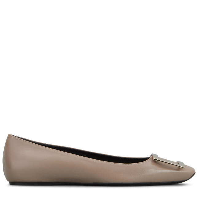 Trompette Ballerinas in Leather