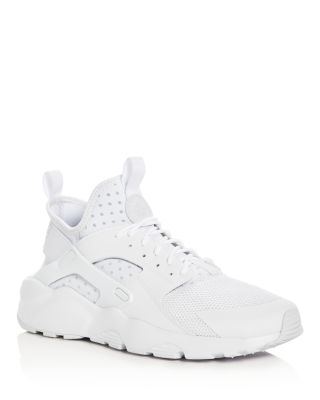 Nike Suedes MEN'S AIR HUARACHE RUN ULTRA LACE UP SNEAKERS